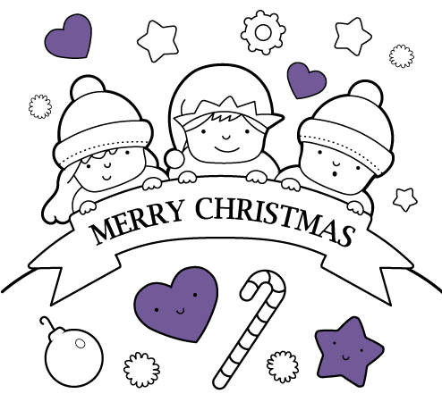 - Christmas Coloring Pages For Kids