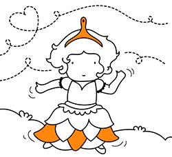 Princess coloring pages for kids